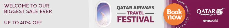 Распродажа Qatar Airways: скидки до 40% на все рейсы! - Авиабилеты