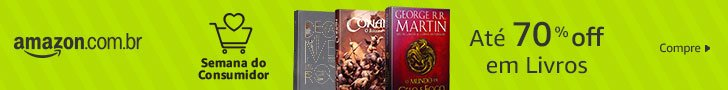 Semana do Consumidor Amazon | Livros